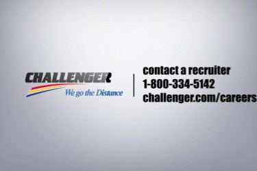Challenger… We go the Distance